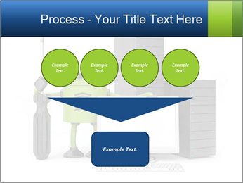 Fix Android Computer PowerPoint Templates - Slide 93