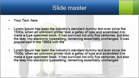 Fix Android Computer PowerPoint Template - Slide 2