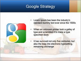Vegan Wife Readidng Cook Book PowerPoint Template - Slide 10