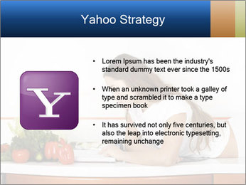 Vegan Wife Readidng Cook Book PowerPoint Template - Slide 11