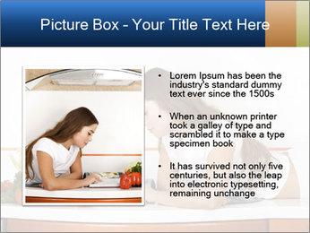 Vegan Wife Readidng Cook Book PowerPoint Template - Slide 13