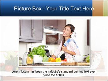 Vegan Wife Readidng Cook Book PowerPoint Template - Slide 15