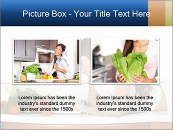 Vegan Wife Readidng Cook Book PowerPoint Template - Slide 18