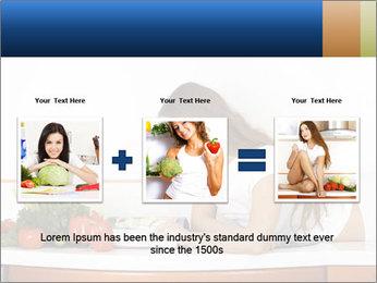 Vegan Wife Readidng Cook Book PowerPoint Template - Slide 22