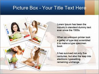 Vegan Wife Readidng Cook Book PowerPoint Template - Slide 23