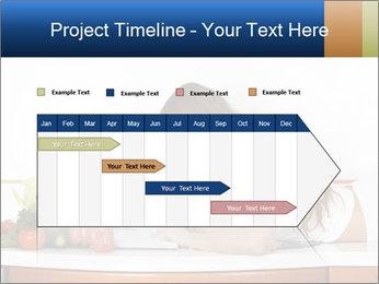 Vegan Wife Readidng Cook Book PowerPoint Template - Slide 25