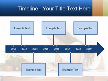 Vegan Wife Readidng Cook Book PowerPoint Template - Slide 28
