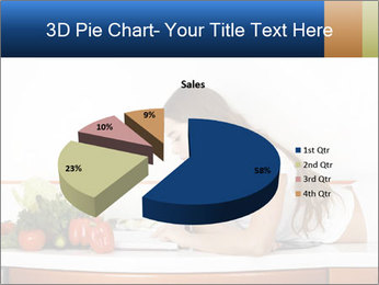 Vegan Wife Readidng Cook Book PowerPoint Template - Slide 35