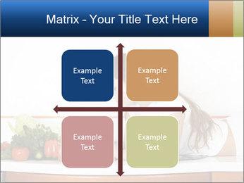 Vegan Wife Readidng Cook Book PowerPoint Template - Slide 37
