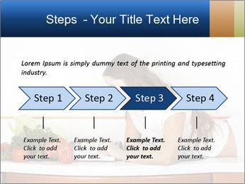 Vegan Wife Readidng Cook Book PowerPoint Template - Slide 4