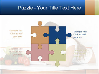 Vegan Wife Readidng Cook Book PowerPoint Template - Slide 43