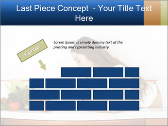 Vegan Wife Readidng Cook Book PowerPoint Template - Slide 46