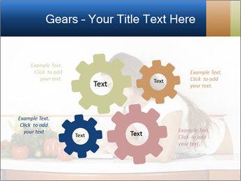 Vegan Wife Readidng Cook Book PowerPoint Template - Slide 47