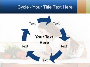 Vegan Wife Readidng Cook Book PowerPoint Template - Slide 62