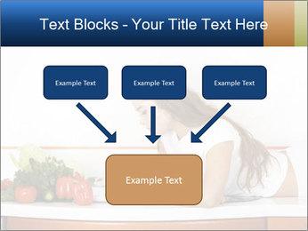 Vegan Wife Readidng Cook Book PowerPoint Template - Slide 70