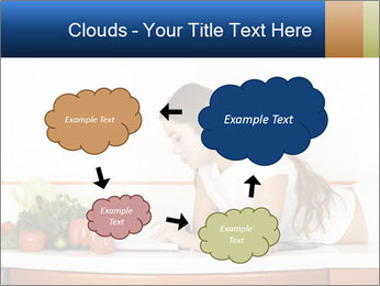 Vegan Wife Readidng Cook Book PowerPoint Template - Slide 72
