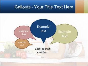 Vegan Wife Readidng Cook Book PowerPoint Template - Slide 73