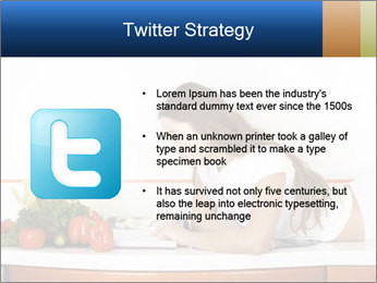 Vegan Wife Readidng Cook Book PowerPoint Template - Slide 9
