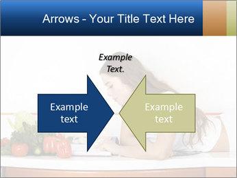 Vegan Wife Readidng Cook Book PowerPoint Template - Slide 90