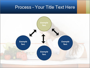 Vegan Wife Readidng Cook Book PowerPoint Template - Slide 91