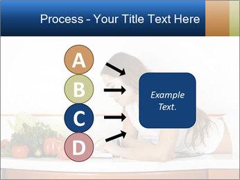 Vegan Wife Readidng Cook Book PowerPoint Template - Slide 94