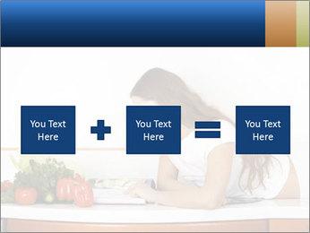 Vegan Wife Readidng Cook Book PowerPoint Template - Slide 95