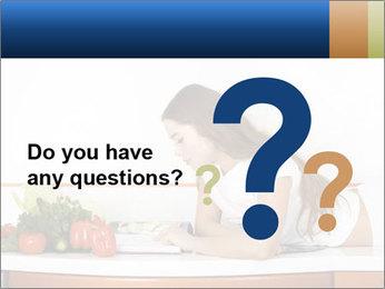 Vegan Wife Readidng Cook Book PowerPoint Template - Slide 96