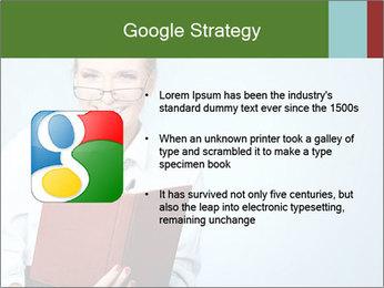 Woman Boss Holding Notebook PowerPoint Templates - Slide 10