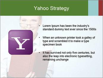 Woman Boss Holding Notebook PowerPoint Templates - Slide 11