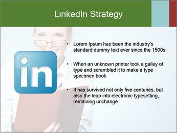 Woman Boss Holding Notebook PowerPoint Templates - Slide 12