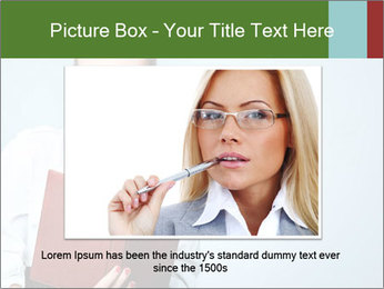 Woman Boss Holding Notebook PowerPoint Templates - Slide 16