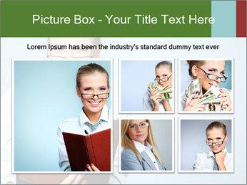 Woman Boss Holding Notebook PowerPoint Templates - Slide 19