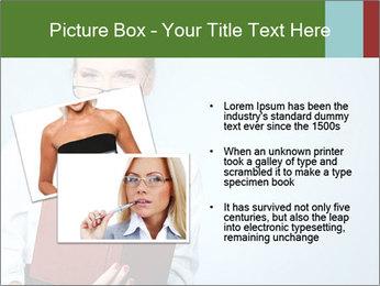 Woman Boss Holding Notebook PowerPoint Templates - Slide 20