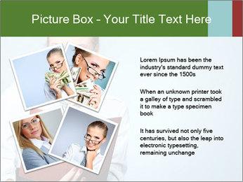 Woman Boss Holding Notebook PowerPoint Templates - Slide 23