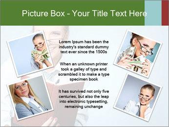 Woman Boss Holding Notebook PowerPoint Templates - Slide 24