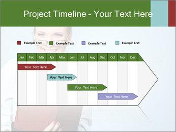 Woman Boss Holding Notebook PowerPoint Templates - Slide 25