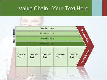 Woman Boss Holding Notebook PowerPoint Templates - Slide 27