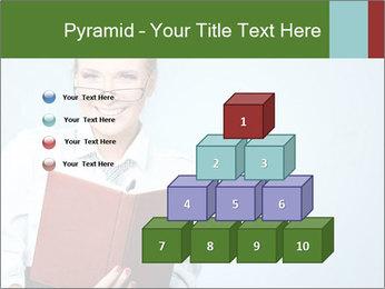 Woman Boss Holding Notebook PowerPoint Templates - Slide 31