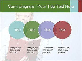 Woman Boss Holding Notebook PowerPoint Templates - Slide 32