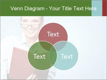 Woman Boss Holding Notebook PowerPoint Templates - Slide 33