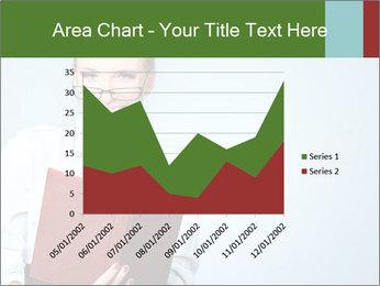 Woman Boss Holding Notebook PowerPoint Templates - Slide 53