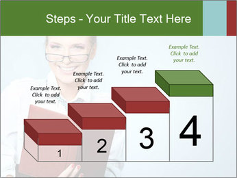 Woman Boss Holding Notebook PowerPoint Templates - Slide 64