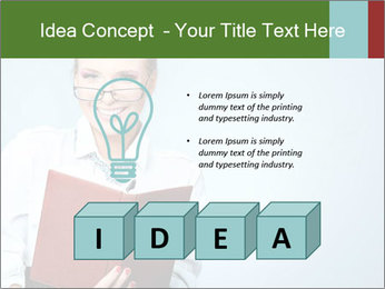 Woman Boss Holding Notebook PowerPoint Templates - Slide 80