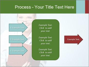 Woman Boss Holding Notebook PowerPoint Templates - Slide 85