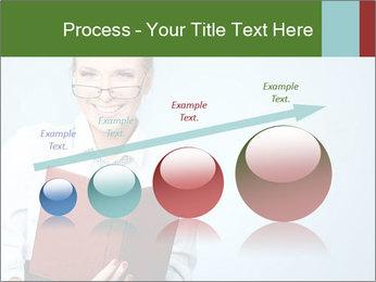 Woman Boss Holding Notebook PowerPoint Templates - Slide 87