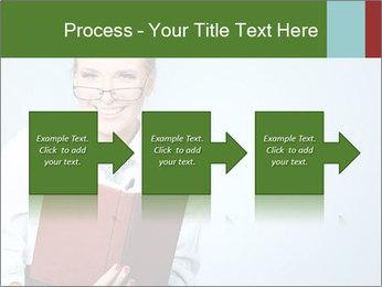 Woman Boss Holding Notebook PowerPoint Templates - Slide 88
