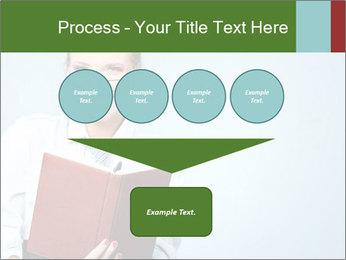 Woman Boss Holding Notebook PowerPoint Templates - Slide 93