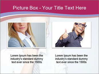 Businesswoman Wearing Trendy Glasses PowerPoint Template - Slide 18