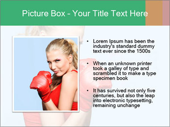 Selfdefence for Young Woman PowerPoint Templates - Slide 13