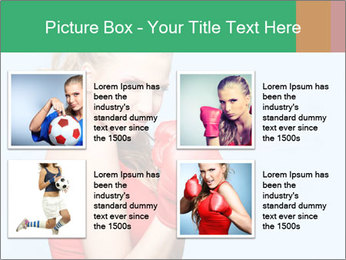 Selfdefence for Young Woman PowerPoint Templates - Slide 14